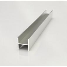 Планка для стен.панелей 6 мм щелевая 1060 (0,6 метра)