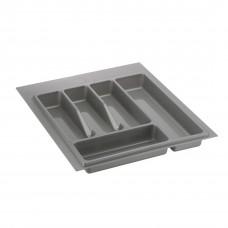 Лоток для столовых приборов VOLPATO 390мм серый