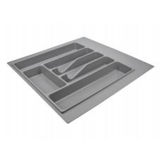 Лоток для столовых приборов VOLPATO 440мм  серый