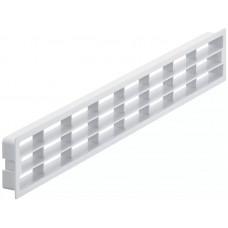 Вентиляционная решетка 458х65мм белая Hafele 571.77.705