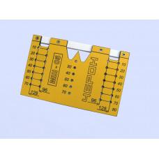 Мебельный шаблон МШ-05 (для ручек 96-128 мм)