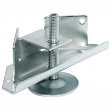 Опора для шкафов угловая регулируемая М10х70