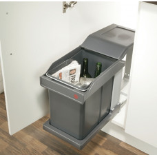 Ведро мусорное выдвижное 20 литров HAFELE (502.43.517)