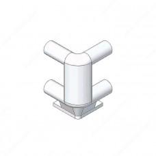 BLUM держатель трубчатого  релинга двойной ZTU.00Z0