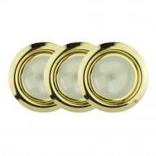 Набор 3 светильника золото GTV (OM-ZH3200-60)