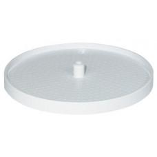 Полка-карусель диаметр 480 мм пластик белый