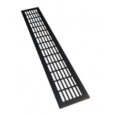 Решетка вентиляционная 480х80 черная SETE