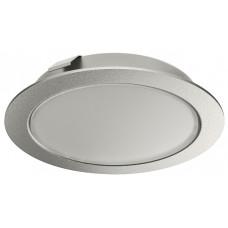 Светильник LOOX LED 2047 круглый серебро(12В, 3 Вт, 3000К)
