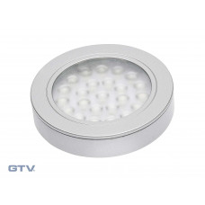 Светильник VASCO алюминий теплый белый GTV