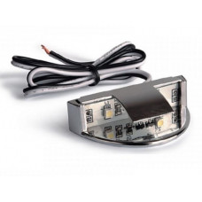 Клипса LED метал. для стекла красный GTV (LD-KLDZ-40)