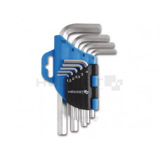 Набор ключей шестигранных TORX 9 шт. HOGERT (HT1W802)