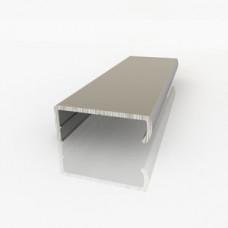 Профиль алюминиевый С-18мм, 3м