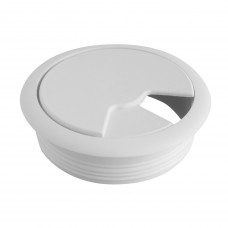 Пропуск для кабеля 60 мм белый PM-PLFI60-10