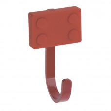 Крючок детский Прямоугольник красный (WM-BLOCK-CZ)