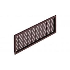 Вентиляционная решетка 68х227мм коричневая Hafele 571.55.549
