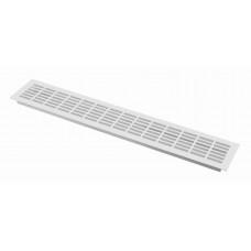 Решетка вентиляционная 480х80 белая