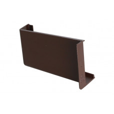 Заглушка для навеса STRONG коричневая левая