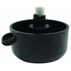 Опора регулируемая H=27 мм черная