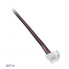 Коннектор ЛЕНТА-БП RGB 4 провода