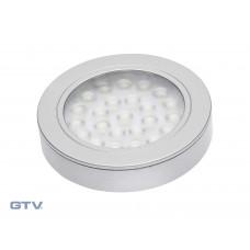 Светильник VASCO алюминий холодный белый GTV