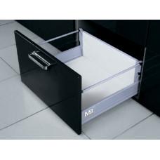 MODERN BOX L-450 серый высокий (2 релинга) GTV