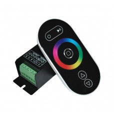 Контроллер RGB с пультом ДУ (радио), сенсорный LD55,12-24V