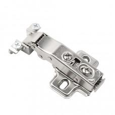 Петля накладная для алюминиевой рамки DECOFIX c доводчиком