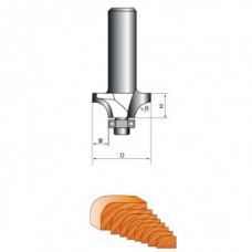 Фреза для кромки d-8мм R-2мм (СТФ-1017-8-14-5)