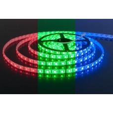 Лента светодиодная 5050-60L IP20 (RGB) 14,4 Вт/м