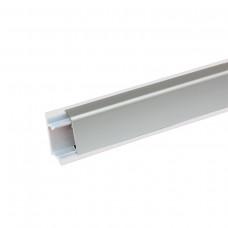 Плинтус алюминиевый прямоугольный 3.05 м (Россия)
