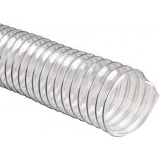 Гофрорукав для вытяжки прозрачный 120 мм