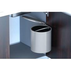 Ведро для мусора INOXA 11 литров серый