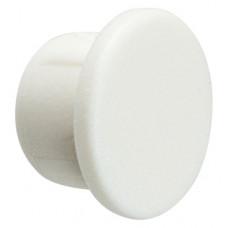 Заглушка пластиковая d=6 мм белая