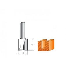 Фреза пазовая прямая 16 мм с торцевым ножом(СТФ-1007-8-16-30