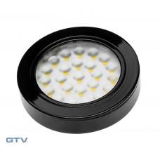 Светильник VASCO черный холодный белый GTV