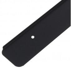 Планка соединительная угловая столешницы 38мм черная