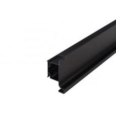 Ручка-профиль вертикальный GOLA, для 16мм, L=4500 мм черный