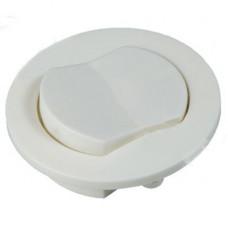 Выключатель накладной мебельный D-66 мм,H-16мм белый