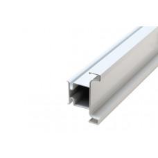 Ручка-профиль вертикальный GOLA, для 16мм, L=4500 мм белый