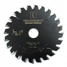 Пила подрезная коническая 120х3,1/4,0х20 Z24 BlackSmith