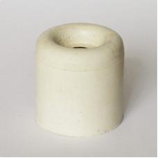 Стопор дверной резиновый белый 40 мм