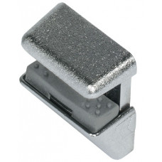 Полкодержатель для стекла 4-8 мм никелированный HAFELE
